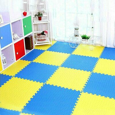 Extra Thick Gym Flooring Interlocking Floor Mats EVA Soft Foam Mat Yoga Tiles 9