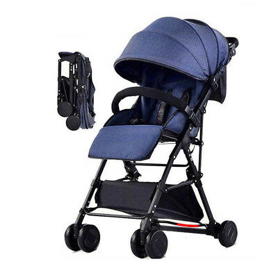 BABYCORE Lightweight Compact Fold Baby Stroller Pram Pushchair Travel Carry On
