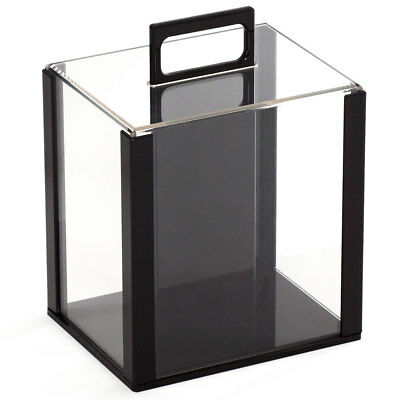 1,000-Piece Casino Acrylic Poker Chip Case. Chip Carrier w/10 Chip Trays