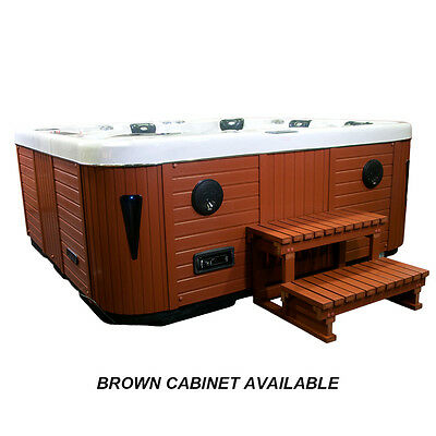 LUXURY EXUMA HOT Tub Ipod/mp3 Jacuzzi Spa Hot Tubs Whirlpool Bath ...