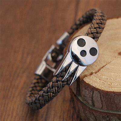 1PC Cool Anime SOUL MASTER EATER Bracelets Wristband Gift Unisex Men Wrist Wrap