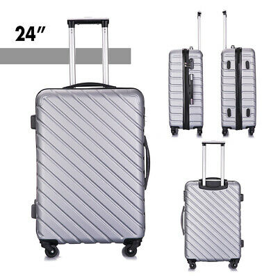 4 Piece Nested Travel Luggage Set Lightweight Suitcase Spinner Hardshell w/Lock 9