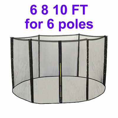 Trampoline Replacement Safety Net Enclosure Spring Cover Pad 6 8 10 12 13 14 FT 4