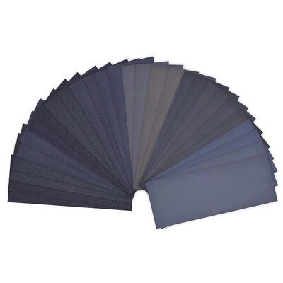 Wet and Dry Sandpaper Any Grit 150-8000 High Quality Sanding Paper Abrasive Tool 6