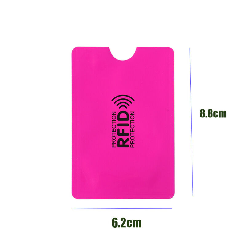 Credit Cards Card Holder Protect Case Cover RFID Blocking Sleeve Wallet 2