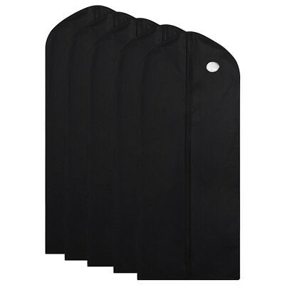 1/5/10Pc Garment Suit Bags Dress Clothes Coat Cover Breathable Protector Storage 9