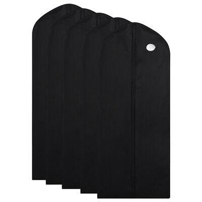 1/5/10Pcs Garment Suit Bag Dress Clothes Coat Cover Breathable Protector Storage 9