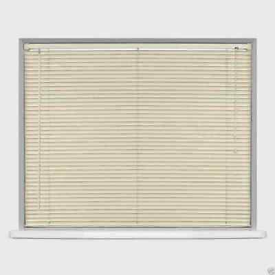 Pvc Venetian Blind Window Blinds Ivory Cream Bedroom Home Office Strong Easy Fit 3