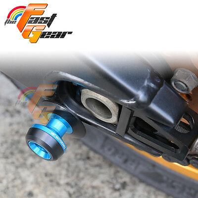 Twall Protector Blue Swingarm Spools Sliders Fit Kawasaki Ninja 300R 2013-2017