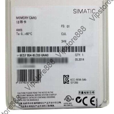 Original  Siemens S7-1200 4MB Memory Card 6ES7954-8LC02-0AA0 FDA+Warranty 2