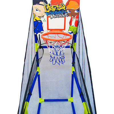 Kids Childrens Indoor Outdoor Basketball Set Shoot Hoop Backboard Basket Ball 2
