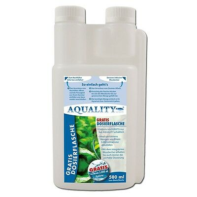 (16,--€/l)AQUALITY Eisendünger FE²  500ml Aquarium Volldünger sattgrüne Pflanzen 5