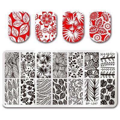 BORN PRETTY Nail Art Stamping Stamper Raschietto Piastra Plate Immagine 3