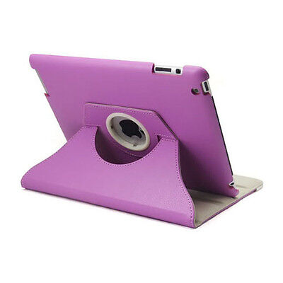 360 Rotating Leather Smart Cover Case for iPad 6th Gen iPad 5 4 3 2 Air mini 8