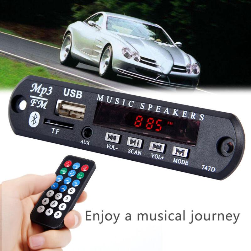 Inalámbrico Bluetooth 12V MP3 WMA decodificador tarjeta  audio módulo USB radio 7