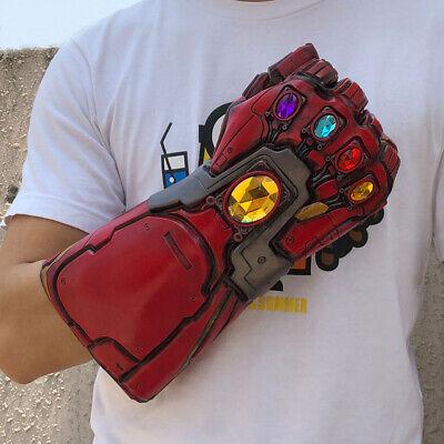 Avengers Endgame Iron Man Infinity Gauntlet Cosplay Thanos Infinite Stone Gloves 5