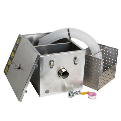 USA Stainless Steel Commercial Grease Trap Interceptor Filter Kit for Restaurant 11