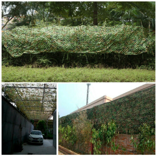 Camouflage Net Camo Hunting Shooting Hide Army Camping Woodland Netting 5M x1.5M 10