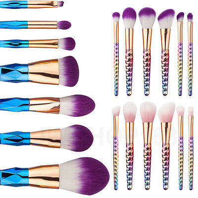 12pcs Kabuki Style Professional Make up Brush Set Foundation Blusher Face Powder 3