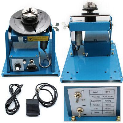 Welding Turntable Rotary Welding Positioner Welding Machine 2-10 r/min Speed 6