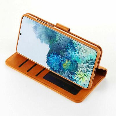 Samsung Galaxy S8 S9 S10 S20 Plus S10E Note 9 10 Wallet Leather Flip Case Cover 4