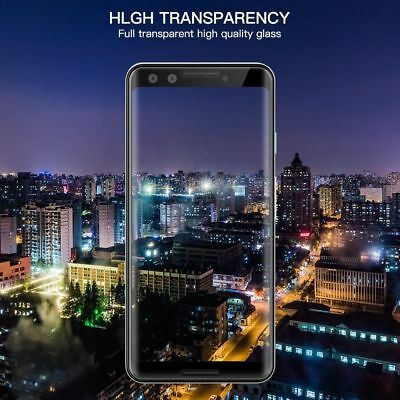 3D Full Coverage Tempered Glass Screen Protector For Google Pixel 2 3 XL 2XL 3XL 8