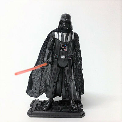 "Lot 2pcs Star Wars LUKE SKYWALKER & DARTH VADER 3.75"" Hasbro action figure toy 3"