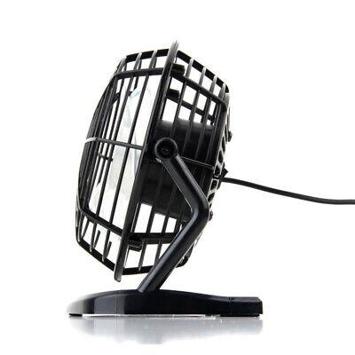 Sommer Tragbar USB Tischventilator Büro Haus Drehbar Tisch Lüfter Ventilator