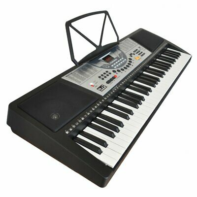 61 Key Full Size Digital Electronic Keyboard Kit Inc Stand, Stool and Headphones 2