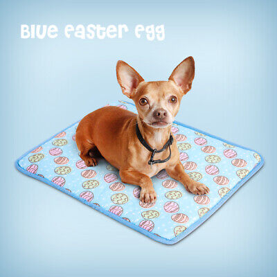Indoor Summer Cat Dog Self-Cooling Mat Hot Weather Puppy Sleeping Bed Chihuahua 12