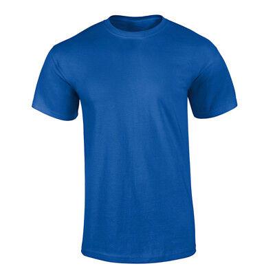 abdb22941de6 ... T-Shirt Uomo Basic Maglietta Casual Mezza Manica Corta Maglia 100%  Cotone 6