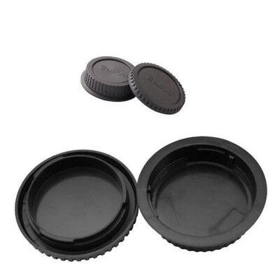 Rear Lens Cover + Camera Body Front Cap for Canon EOS EF EF-S DSLR SLR Lens 2