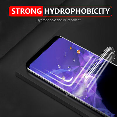 Samsung Galaxy S10 5G S9 S8+ S10e Note 10 9 8 HYDROGEL FLEX Screen Protector 5