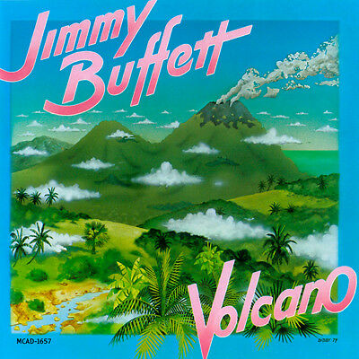 Tee Shirt New Adult Unisex Counrty Pop Icon JIMMY BUFFET Volcano cotton t shirt