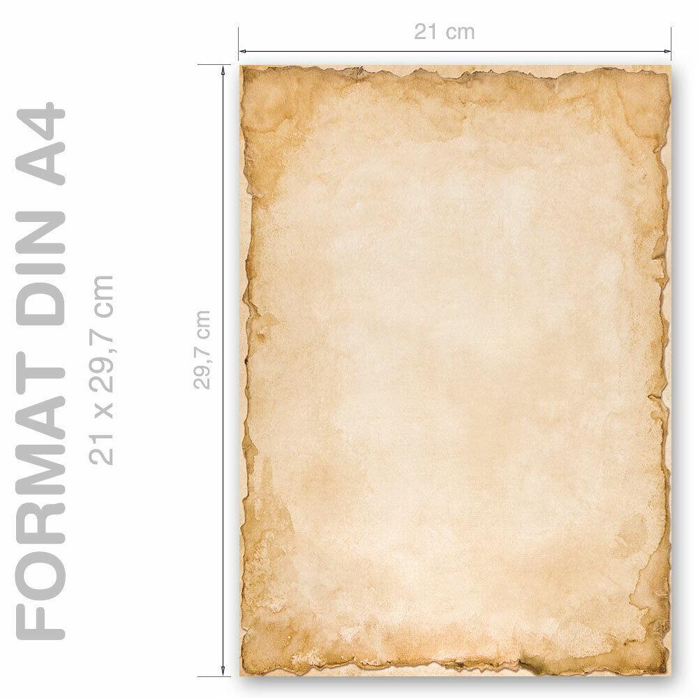 DIN A4 Format 50 Blatt Motiv-Briefpapier FROHE FESTTAGE