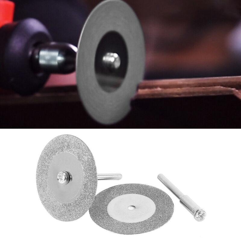 10x Diamond Cutting Off Disc Saw Blades Grinding Wheel for Dremel Rotary 30mm CC 6