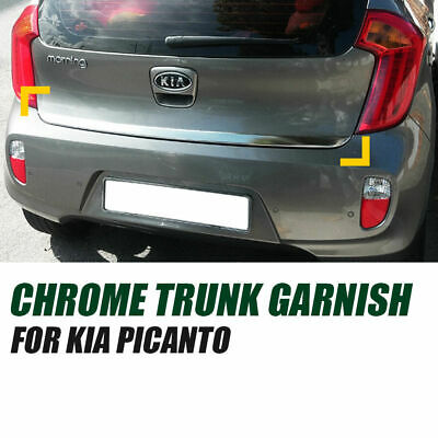 Chrome Rear Trunk Garnish Molding Trim C784 For Kia Sorento 2016~2019