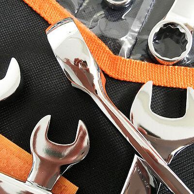 NDI Combination Spanner Set 30 Piece Chrome Vanadium Steel Metric & Imperial 4
