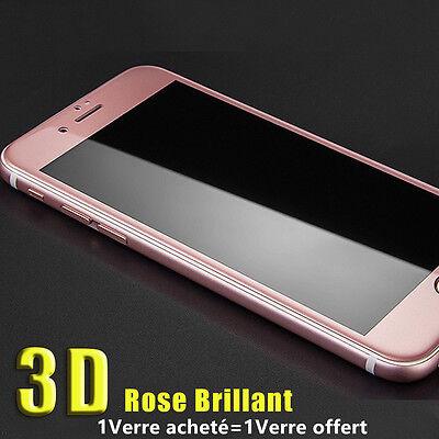 POUR iPhone 8/7/6S/6 XR XS MAX VITRE PROTECTION VERRE TREMPE 3D FILM INTÉGRAL 7