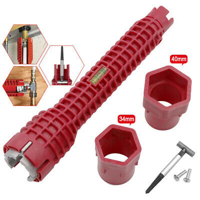 8 In 1 Water Pipe Wrench For Plumbers And Homeowners Faucet&Sink Installer Tool 5