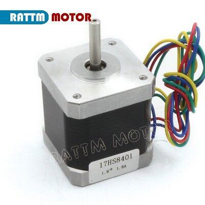 【EU Stock】10Pcs Nema17 Stepper Motor 78oz-in 48mm for Mill CNC Router/3D Printer 5