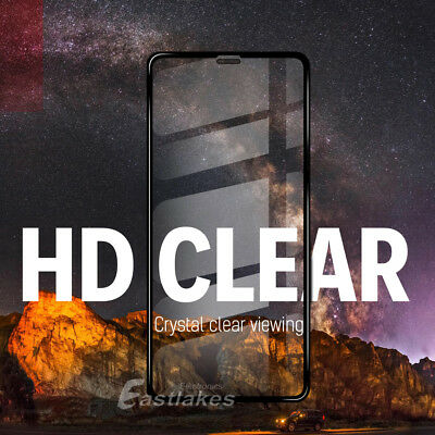Apple iPhone XS Max XR X 8 7 Plus 10D Tempered Glass Screen Protector Full Cover 3