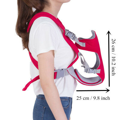Newborn Infant Adjustable Comfort Baby Carrier Sling Rider Backpack Wrap Straps 4