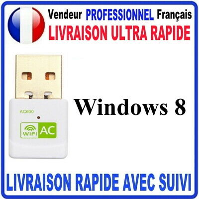 CLE USB WIFI ADAPTATEUR 600 Mbps DONGLE USB DOUBLE BANDE 3