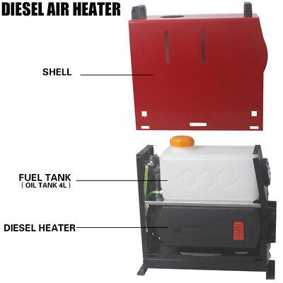 12V 5KW Diesel Air Heater Remote Control LCD Display For Truck Van Motorhome UK 6