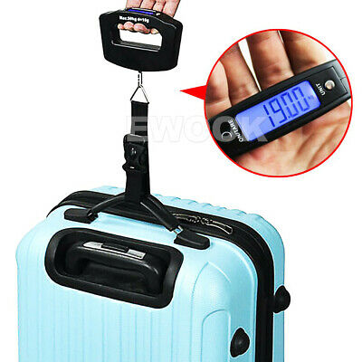 Electronic Digital Portable Scale Luggage Weight Hanging Travel 50 KG 10G AU 10