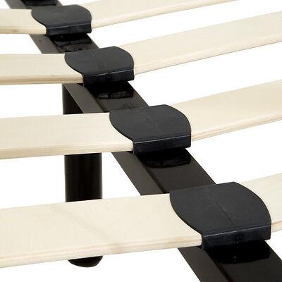 140x200 cm schlafzimmerbett metallbett bettgestell bett schwarz neu lattenrost eur 99 89. Black Bedroom Furniture Sets. Home Design Ideas