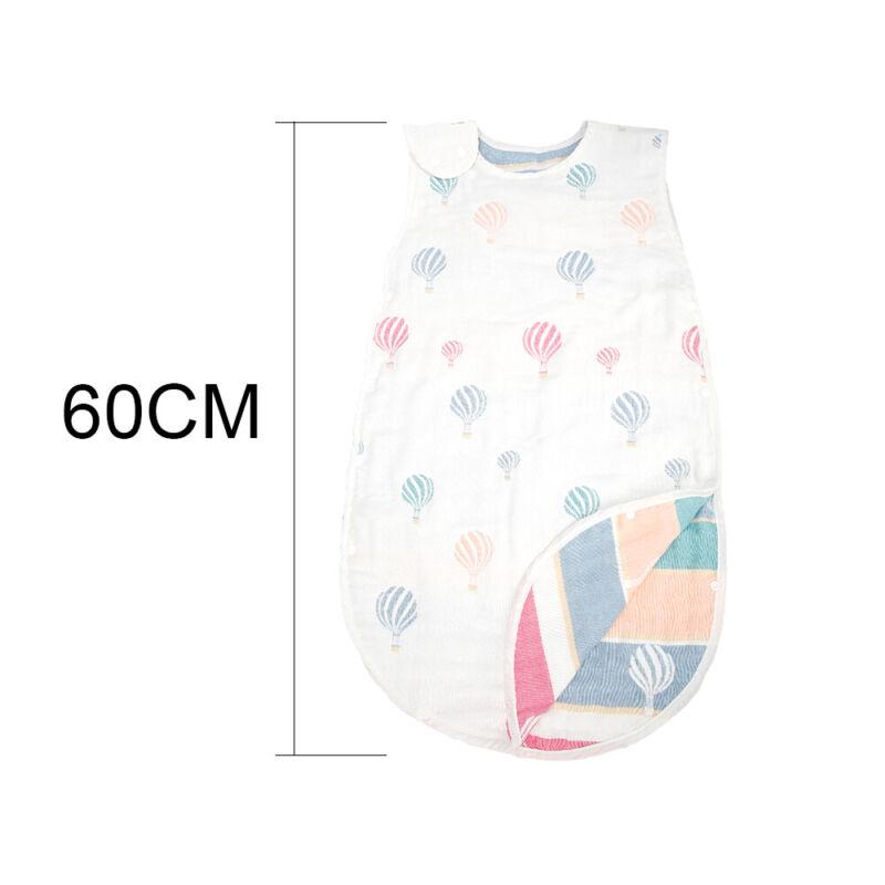Baby kurzärmlig Schlafsack 6-18 Monate Reise Kinderzimmer 100/% Baumwolle
