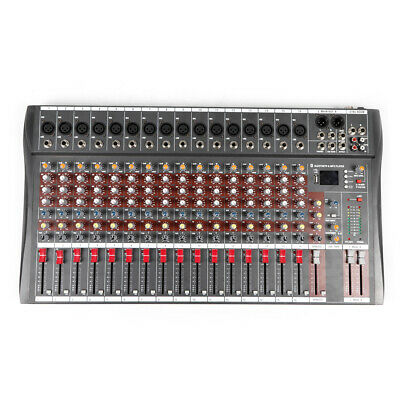 4000 Watt 16 Channel Professional Mixer power Sound mixing Console Audio Live DJ 10