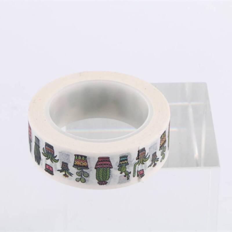DIY Cute Cactus Washi Tape Decorative Adhesive Tape Masking Diary Decoration 3